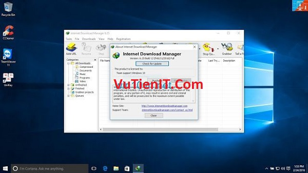 Interner Download Manager 6.25 key ban quyen