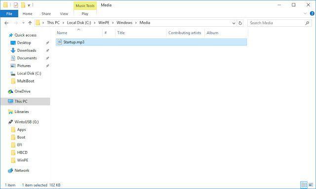 huong dan xoa hoac thay amthanh khoi dongWindows 10 pe