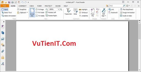 Download Foxit Reader 8.2 phan men doc file pdf 1