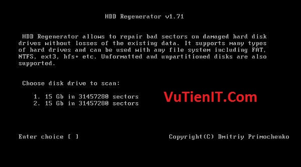 Download HDD Regenerator 1.71 phan men cach bad o cung 2
