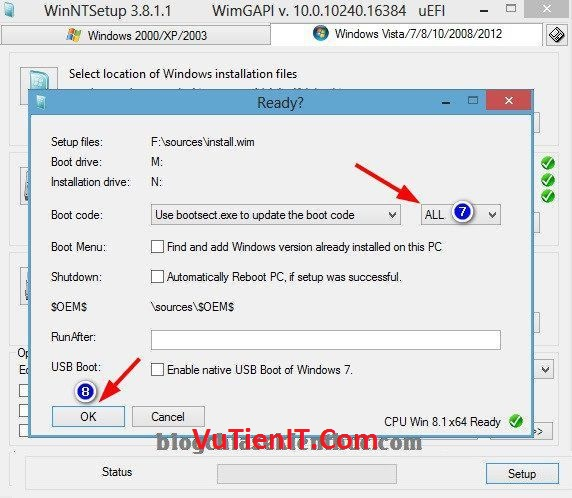 chay phan men WinNTsetup cai windows chuan uefi 4