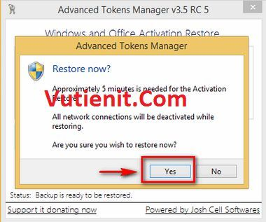 huog dan su dung Advanced Tokens Manager 3.5 RC 5 3