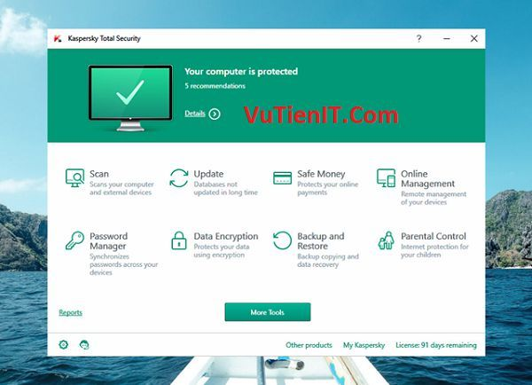 Download Kaspersky Internet Security 2017 Key KIS 2017 ban quyen 3 thang 2 (2)