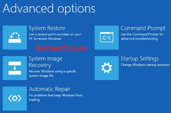Repair your computer windows 8 windows 10