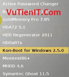 chon Kon-Boot for Windows 2.5.0