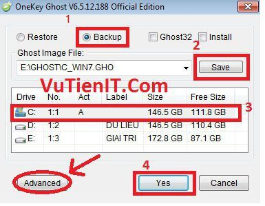 tao file ghost windows bang phan men onekey ghost 2