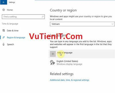 them tieng viet Cho Windows 10 Anniversary Update 1