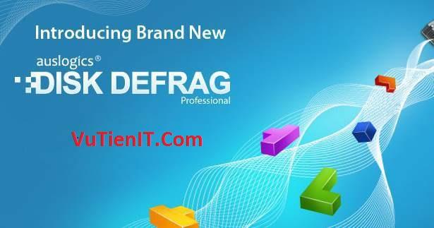 Auslogics Disk Defrag Pro Full Key phan men chong phan manh o cung
