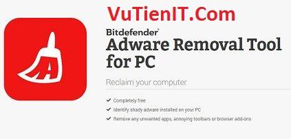 Bitdefender Adware Removal phan men loai bo quang cao may tinh
