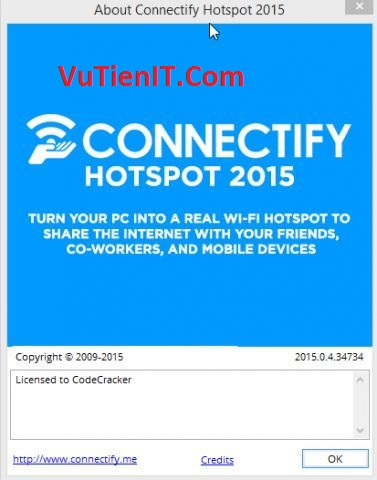 Connectify Hotspot 2015 Full Crack phan men phat wifi tren laptop