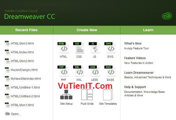 Download Dreamweaver CC 2015 Full Crack