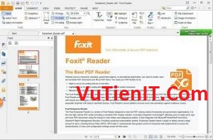 Download Foxit Reader 8.2 phan men doc file pdf