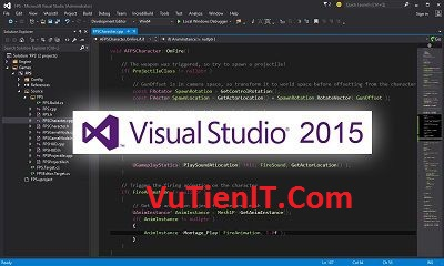 Download Visual Studio 2015 Pro Ent FULL key ban quyen