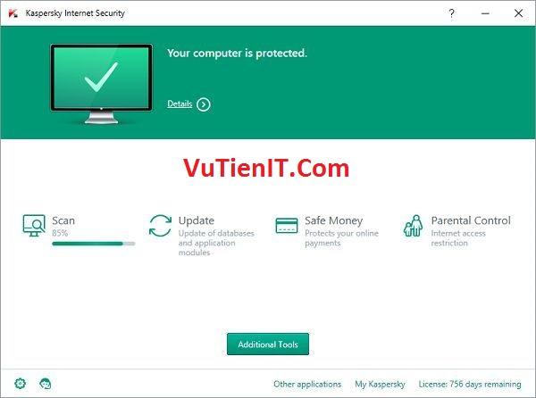 Kaspersky Internet Security 2016 kis key ban quyen 2 nam