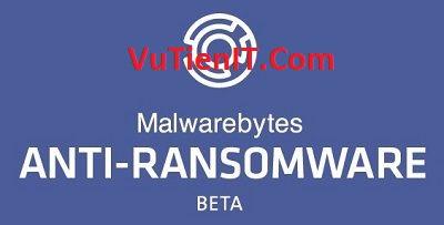 Malwarebytes Anti-Ransomware phan men diet virut tong tien manh me