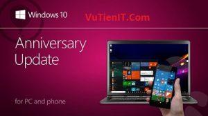 Windows 10 Anniversary Update 1607 sap duoc ra mat
