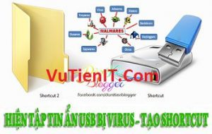 diet viruts trong usb tao file shortcut 1kb