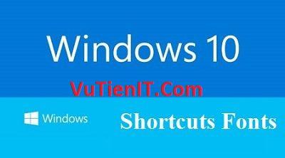 huong dan thay doi font chu tren windows 10