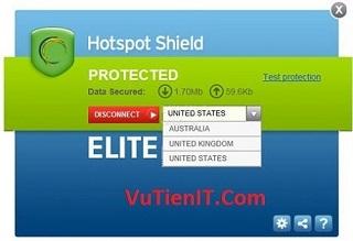 Download Hotspot Shield Elite VPN 5.20 Full Crack phan men an ip tot nhat