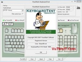 KeyboardTest 3.0 Full Crack kiem tra test ban phim windows tot nhat