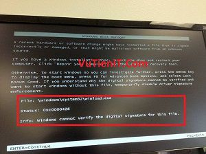 fix loi windows mat boot Winload exe