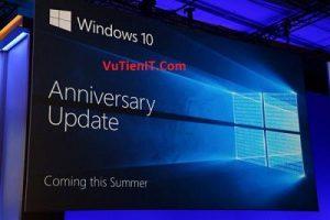 nhung thay doi trong Windows 10 Anniversary Update 1607