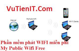 MyPublicWiFi phan men phat wifi cho laptop mien phi