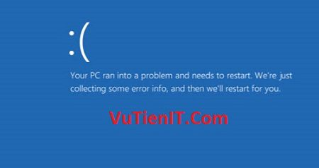 sua-loi-your-pc-ran-into-a-problem-and-needs-to-restart