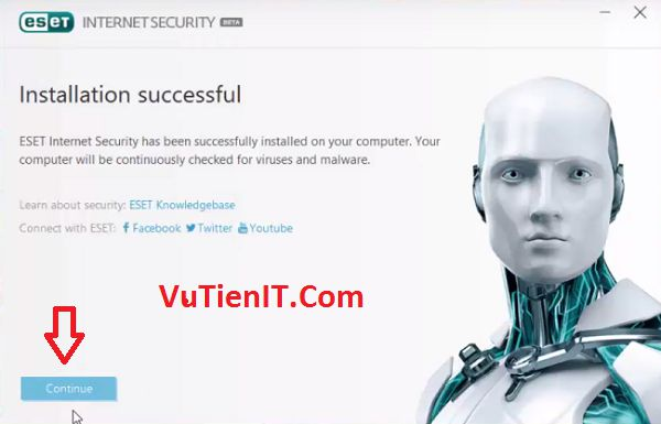 install-eset-10-successful