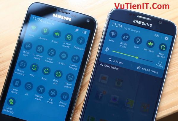 giao dien samsung galaxy s6