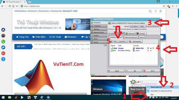 su dung internet tren Windows PE