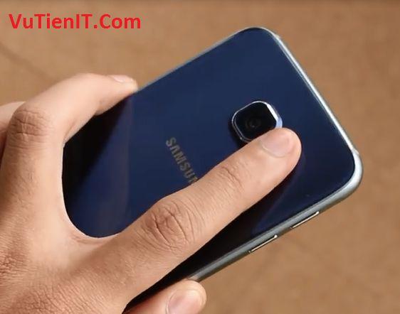 vi tri cam bien nhip tim Samsung Galaxy S6