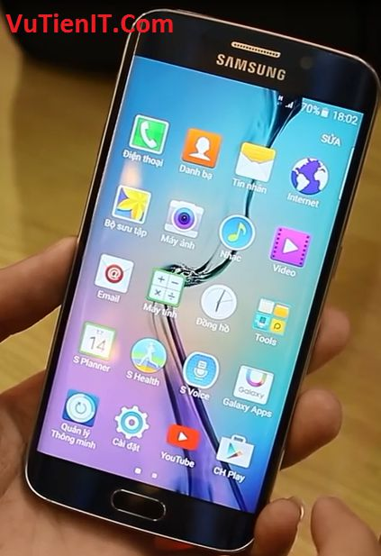 cac ung dung tren Galaxy S6 Edge