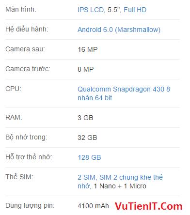 cau hinh Asus Zendfone 3 Max