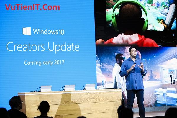 ban cap nhat windows 10 Creator's Update