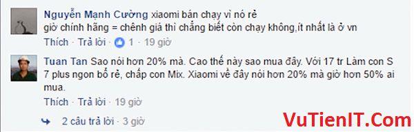 gia dien thoai Xiaomi