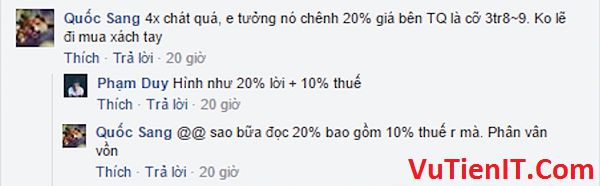 muc gia Xiaomi chenh lech 40 phan tram so voi gia trung quoc