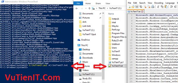 su dung windows PowerShell