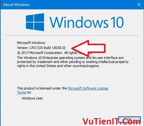 trinh khac phuc su co Windows 10 1703