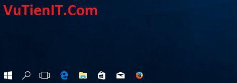 thu thuat tao thanh taskbar windows 10 Creators Update trong suot