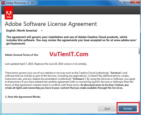 adobe software license agreement Illustrator cc 2017