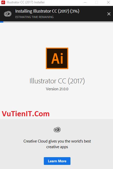 huong dan cai dat Crack Adobe Illustrator CC 2017