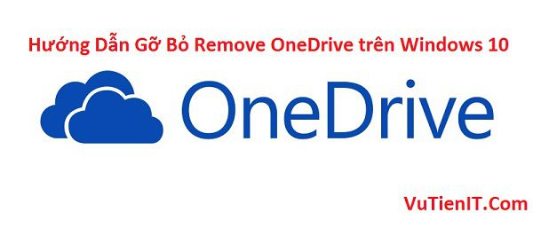 remove OneDrive in windows 10