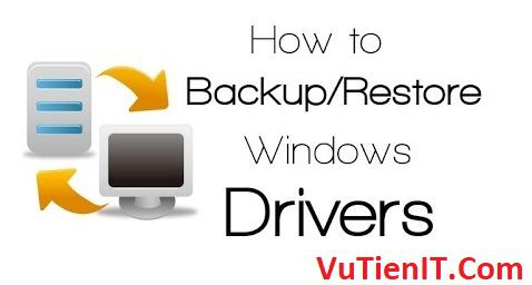 howto backup restore driver windows
