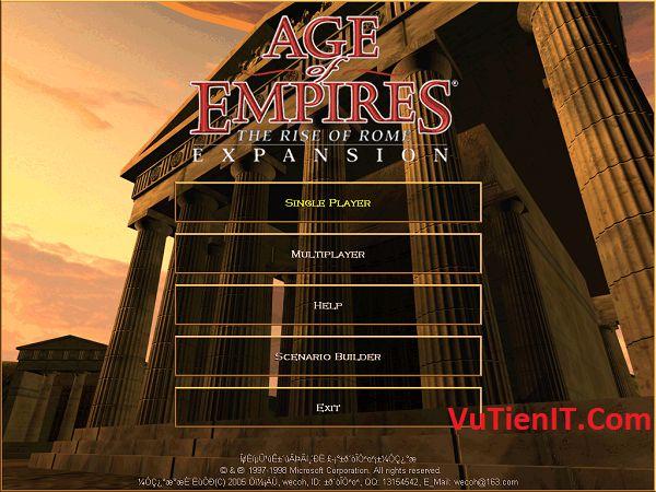 su hinh thanh va phat trien de che Age of Empires