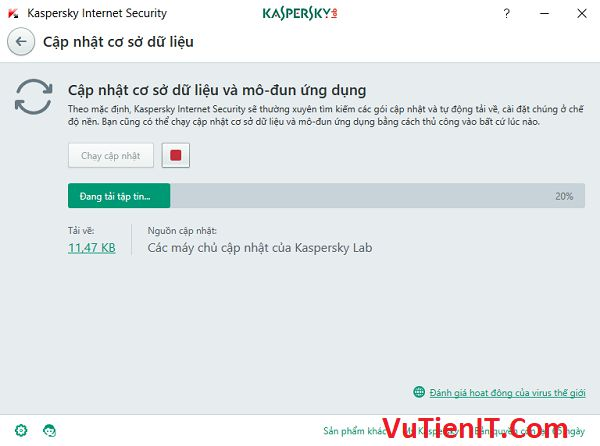 update Kaspersky Internet Security