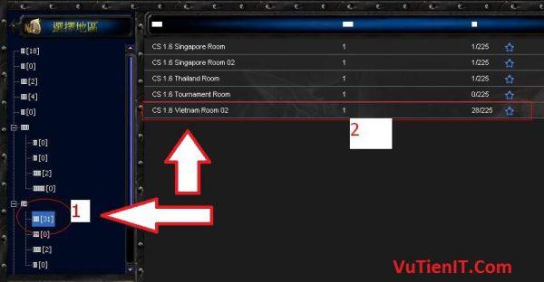 huong dan choi Half life CS1.1 Online qua Garena plus 3