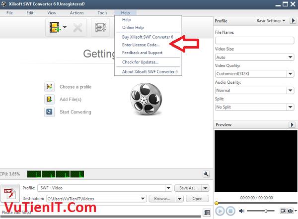 key ban quyen Xilisoft SWF Converter