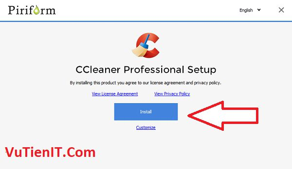 Key CCleaner professional 2017