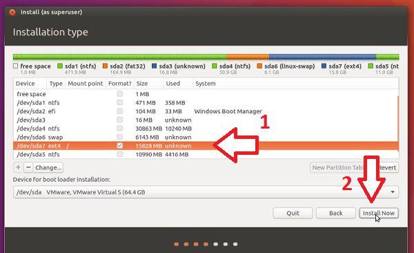 cai dat ubuntu uefi 09